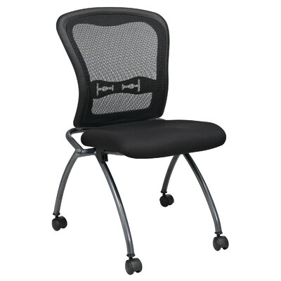 Office Star Products Proline II Mid-Back Deluxe Armless Folding Office Chair