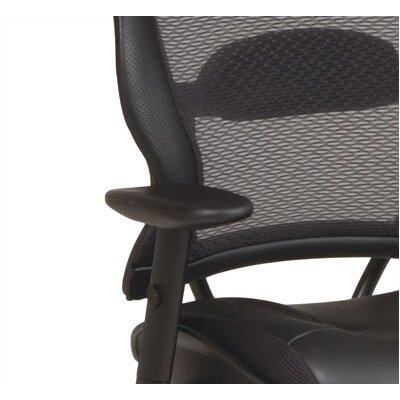 Office Star Products SPACE Air Grid Deluxe High-Back Task Chair with Arms