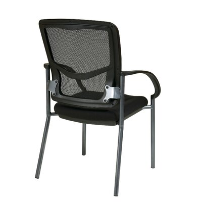 Office Star Products ProGrid® Back Visitors Chair with Arms