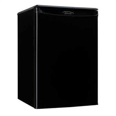 2.5 Cubic Ft. All Refrigerator in Black