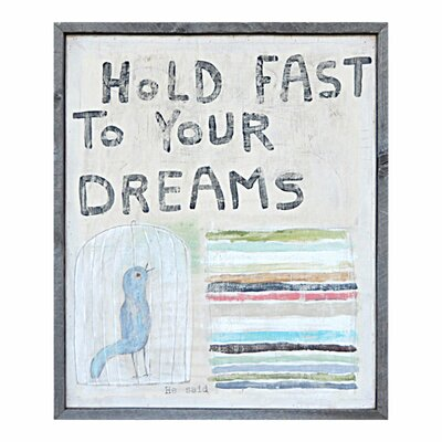 Sugarboo Designs Hold Fast to Your Dreams Art Print