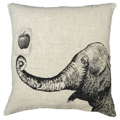 Sugarboo Designs Apple and Elephant Pillow