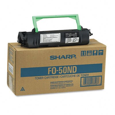 Sharp FO50ND Toner/Developer Cartridge, Black