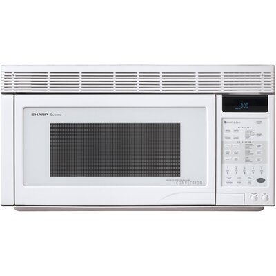 850W Over the Range Convection Microwave Oven in White