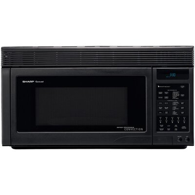 850W Over the Range Convection Microwave Oven in Black