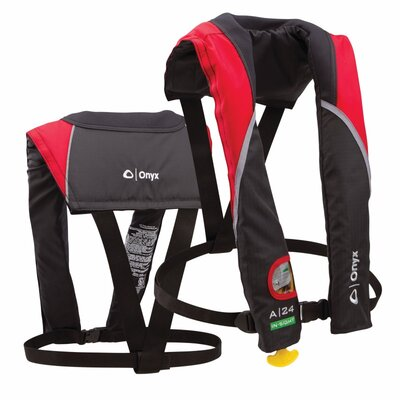 A-24 In-Sight Automatic Inflatable Life Jacket
