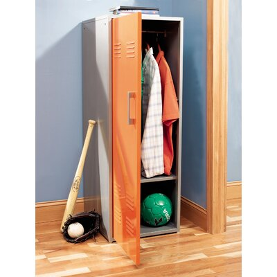 Powell Furniture Teen Trends Orange Storage Locker