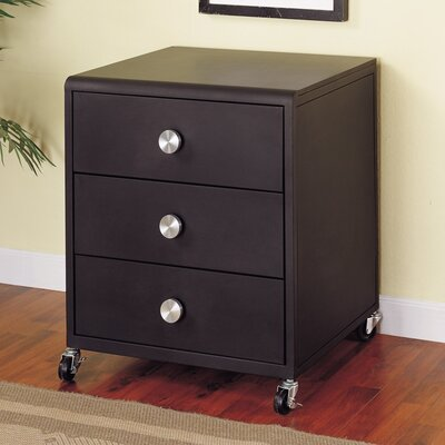 Powell Furniture Z Bedroom 3 Drawer Nighstand