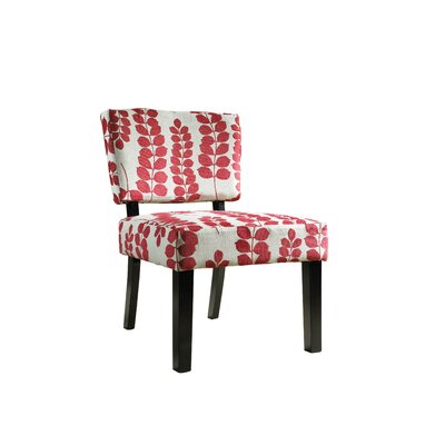 Powell Furniture Floral Oliver Fabric Slipper Chair