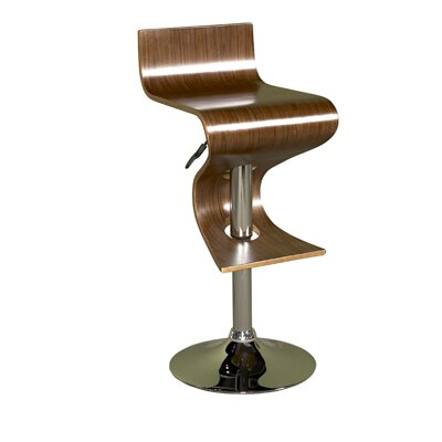 Powell Furniture Carson Shaped Adjustable Bar Stool