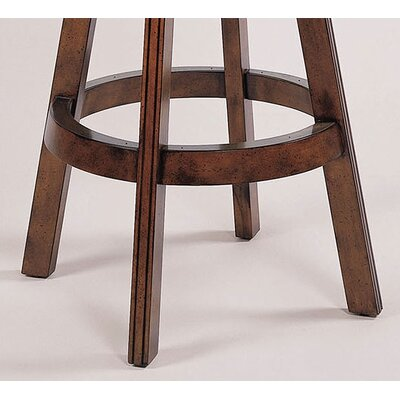 "Powell Furniture Brandon 30"" Cherry Swivel Bar Stool"