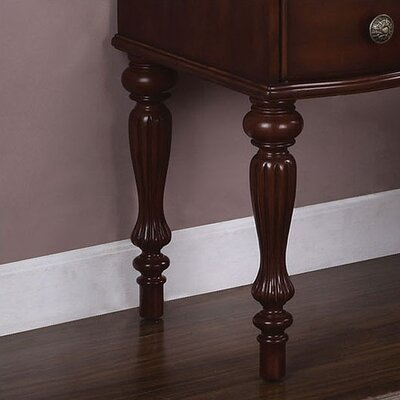 "Powell Furniture Marquis 44"" Cherry Vanity Set"