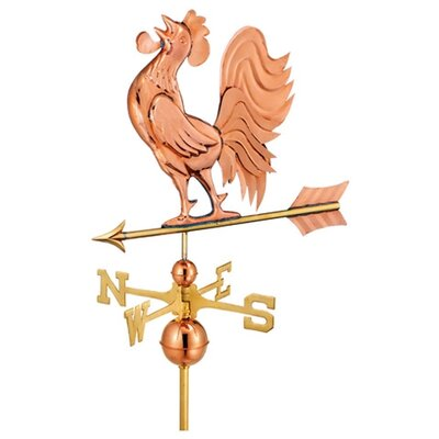 Good Directions Full Size Weathervane Crowing Rooster