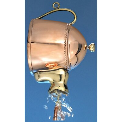 Good Directions Teapot Rain Chain Leader