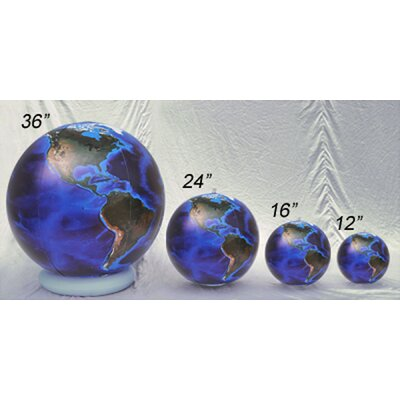 "Inflatable Globes 24"" Blue Marble Globe (Pack of 6)"
