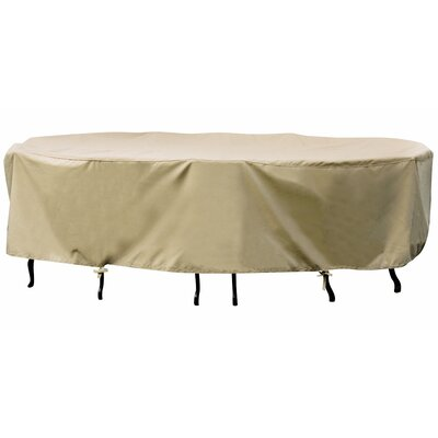 "Swim Time 48"" Round Table / Chair Winter Cover in Beige"
