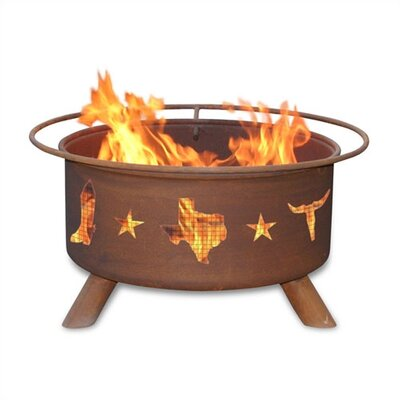 Patina Products Lone Star Fire Pit