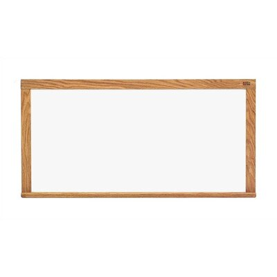 Marsh Pro-Rite Markerboards - Oak Frame 4' x 8'