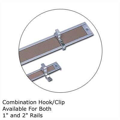 Marsh .5Map Rail Accessories - Combination Hook/Clip (Qty. 4)