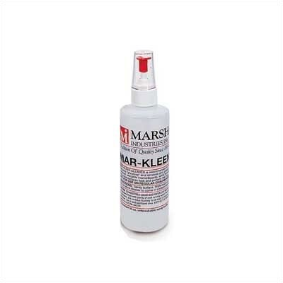 Marsh Mar-Kleen Markerboard Cleaner - One (1) 8 oz. Spray Bottle