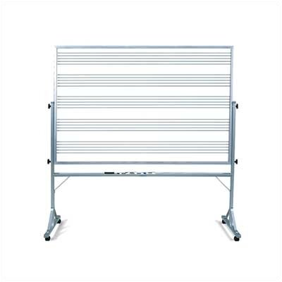 Marsh Freestanding Graphics Reversible Boards - Musical Staff Lines