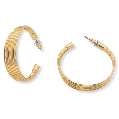 Goldtone Multi-Wire Earrings