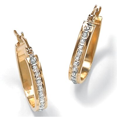 Palm Beach Jewelry Diamond Fascination 14k Earrings