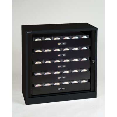 Bisley Library Style 5 Drawer Multimedia Cabinet