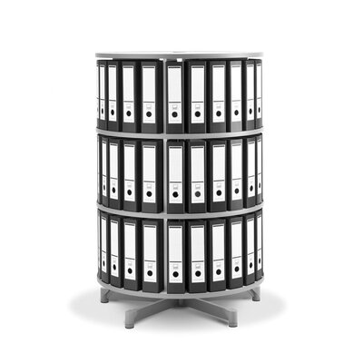 Empire Office Solutions Spin-N-File 3-Tier Rotary Binder Storage Carousel