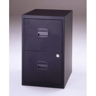 Empire Office Solutions Bisley Two Drawer Home Filing Cabinet