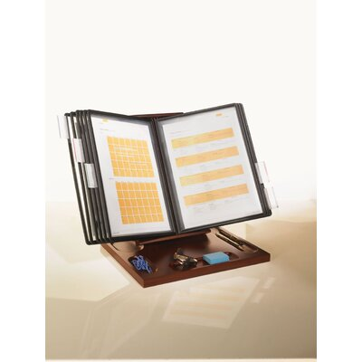 Empire Office Solutions Stack and Style Wood Desktop Document Quick Reference Page System