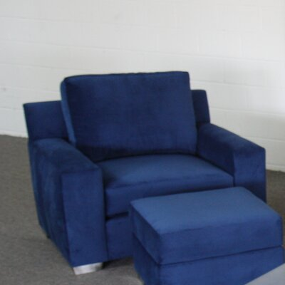 Huntington Industries Benno Chair and Ottoman