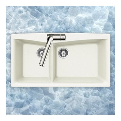 Arco Series Dual Mount 70/30 Double Bowl Sink