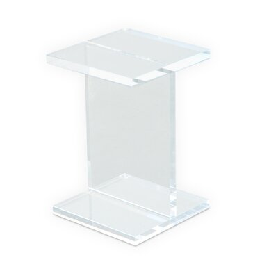 Gus Modern Acrylic I-Beam End Table