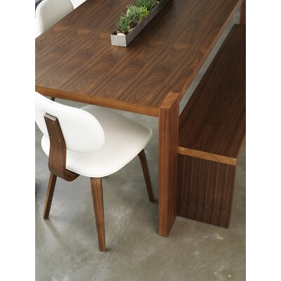 Gus Modern Plank 4 Piece Dining Set