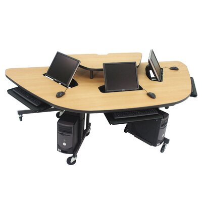 Paragon Furniture Mobile Multi-User Computer Work Station