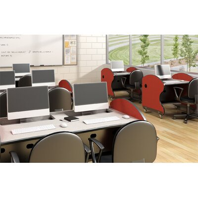 Paragon Furniture Learning Bay Computer Workstation with Accessories