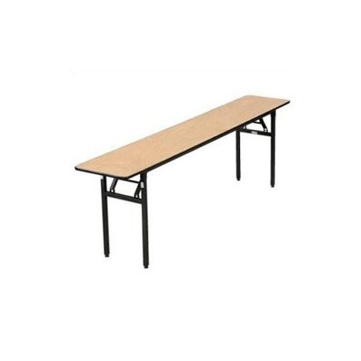 "Buffet Enhancements 72"" x 18"" Rectangular Folding Table"