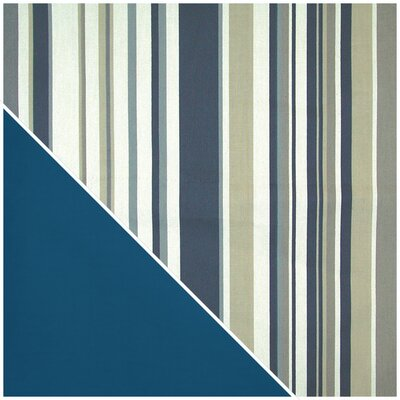 Elite Products Newport Navy Stripe Designer Print Cover