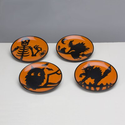 Omniware Potion Assorted Plates (Set of 4)