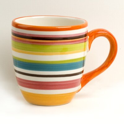 Omniware Rio Multistriped 14 oz. Mug