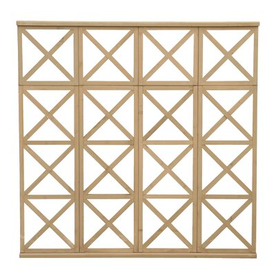 Yardistry 4 High Decorative X Panel