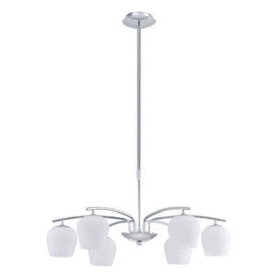 EGLO Carda 6 Light Chandelier