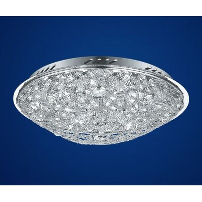 EGLO Stelaria 2 8-Light Flush Mount