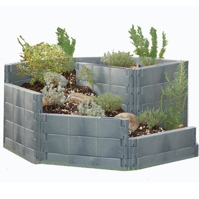 2-in-1 Herb Spiral Raised Bed