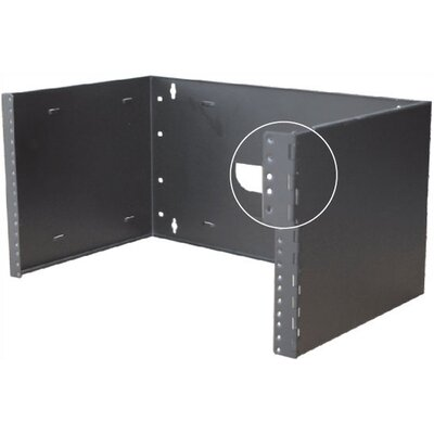 Quest Manufacturing Hinged Wall Mount Bracket with 6&quot; Depth