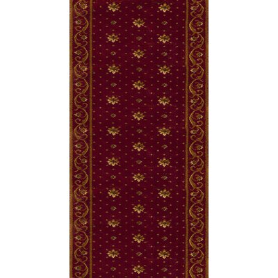 Rivington Rug Zealous Rockwall Crimson Rug