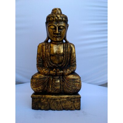 Miami Mumbai Thai Budda Statue with No Horn