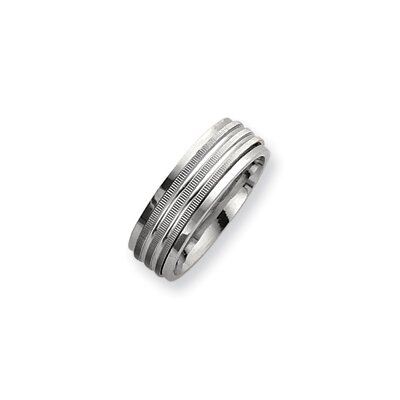 Jewelryweb Sterling Silver Mens Spinning Band Ring