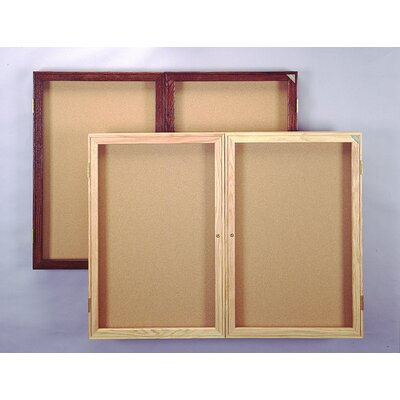 Ghent Enclosed Tackable Fabric Board (2 door)
